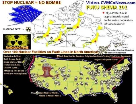 ! Americas Nuke Map