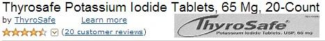 iodide tablets thyrosafe