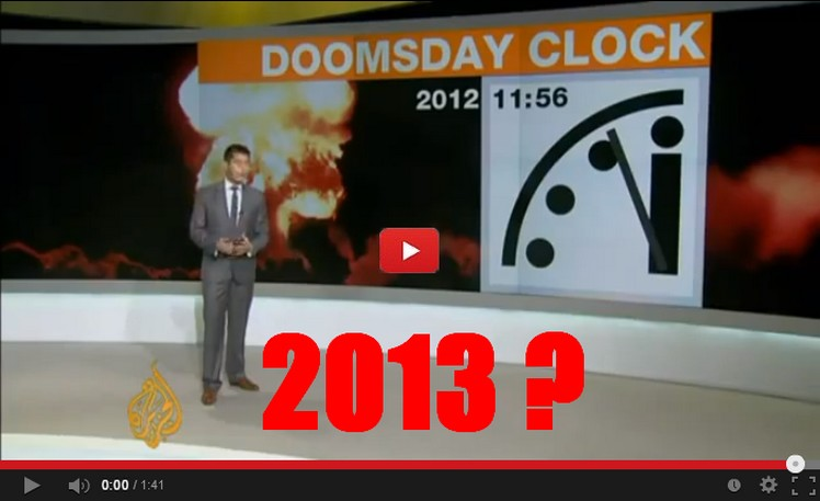 doomsday clock set