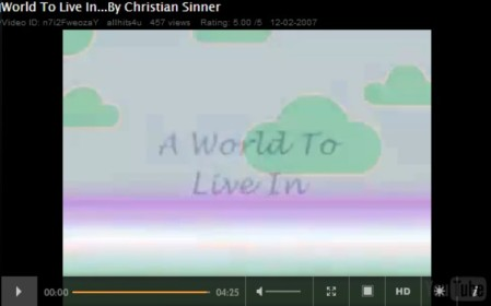 A World To Live In - By Christian Sinner