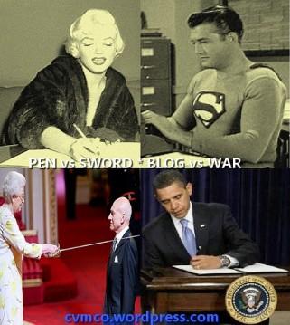 pen vs sword - blog vs war