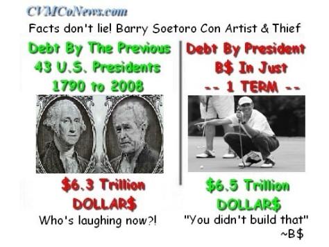 Obama Con Artist-Thief