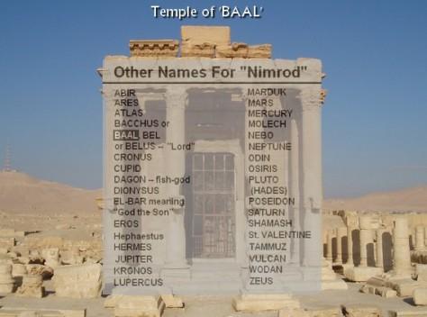 Temple of BAAL Nimrod