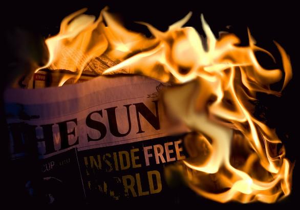! ! THE BURNING SUN POST